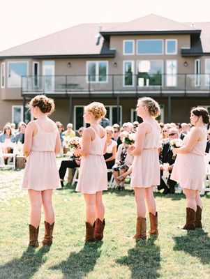 Country Meets Elegant Wedding