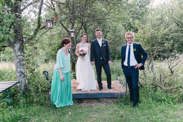Colorful Garden Wedding in Austria
