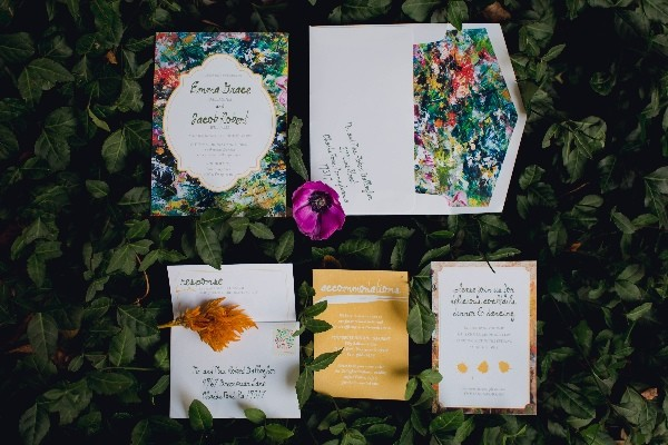 Floral Packed Garden Wedding Ideas