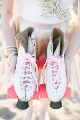 Bridesmaids Party on Roller Skates
