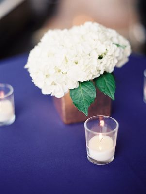 Magical Purple And Gold Wedding