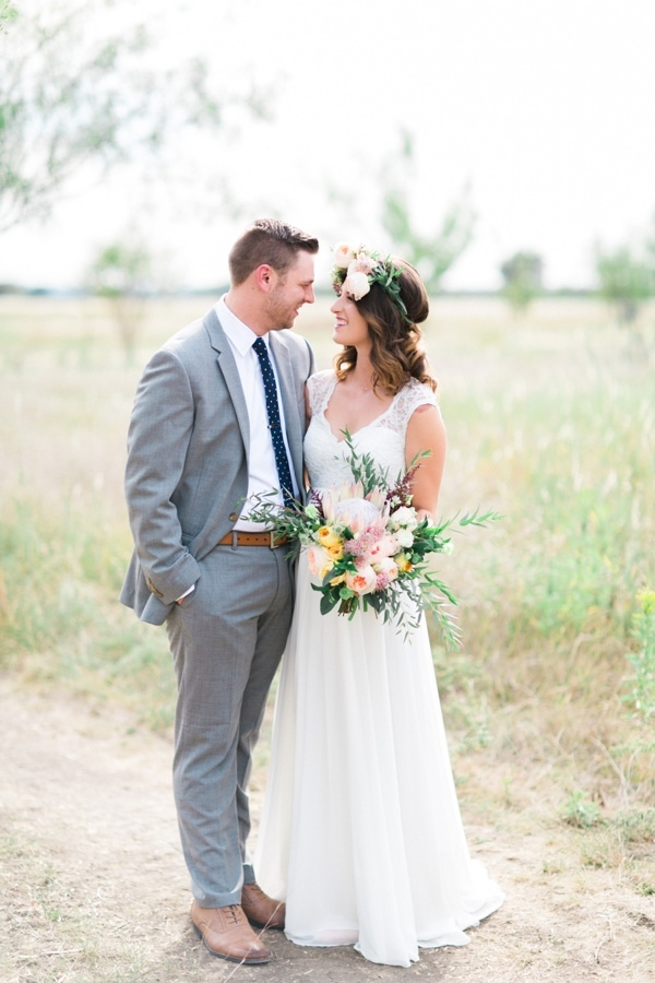 Santa Fe Inspired Wedding In Texas