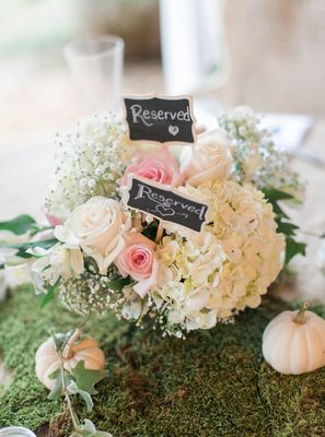 Green and White Fall Wedding Ideas