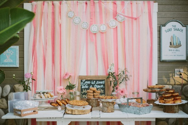 Pink and Gold Cuban Wedding