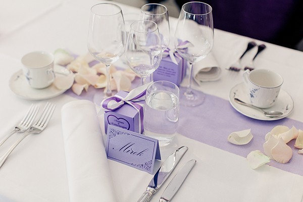 For The Love Of Purple Wedding in Finland