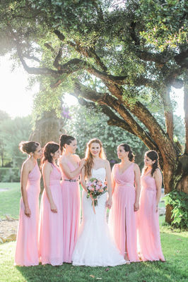 Glamorous Garden Wedding in Portugal