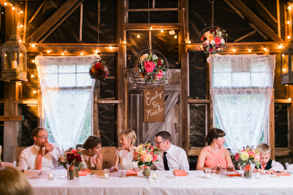 Casual Bed And Breakfast Wedding