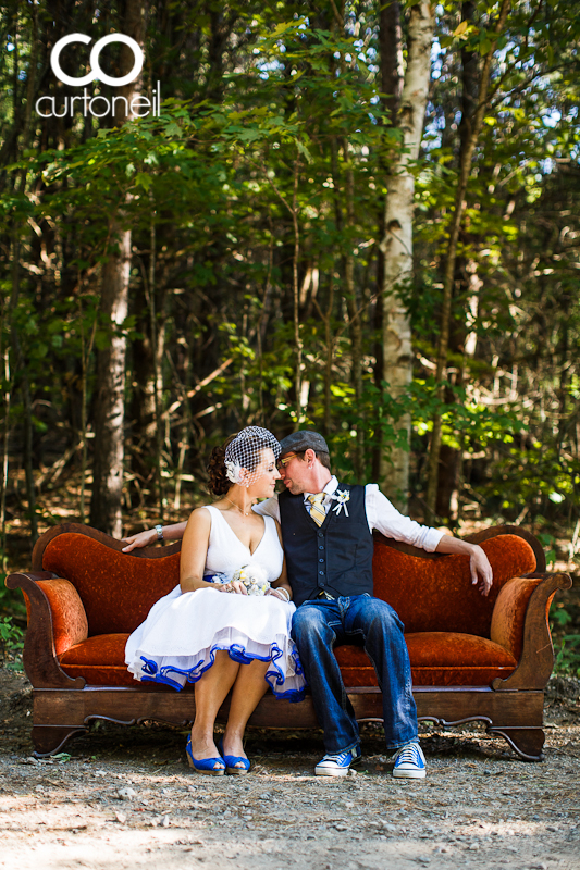 weddings, woods, antiques, canada, ontario, bass lake resort, rustic, converse