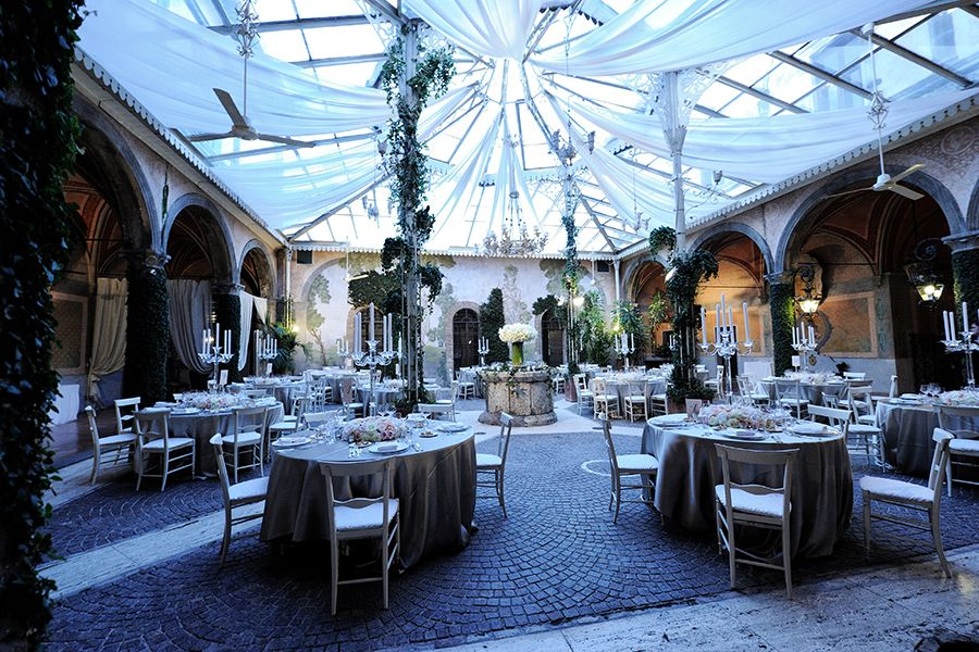 Winter Garden Party Ideas Part - 38: ... Originally A Winter Garden Surrounded By A Wide Terrace, Is Where We  Set Up The Hall For Dinner, While In The Other There Was The Party With  Open Bar, ...