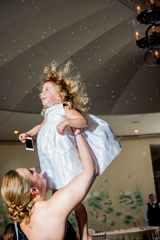 Even she was capturing the fun with Weddingmix!