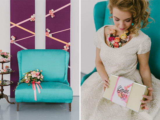 bridal shower seating ideas