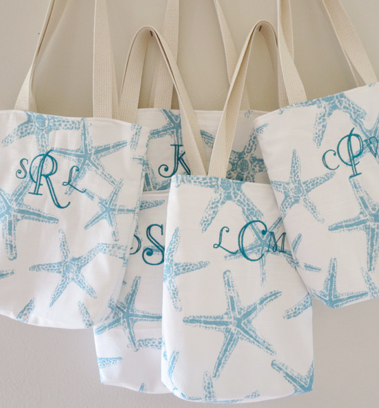 Beach Wedding Welcome Bags From Ooh Baby