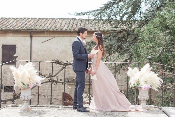 Blush Italian Countryside Wedding Ideas