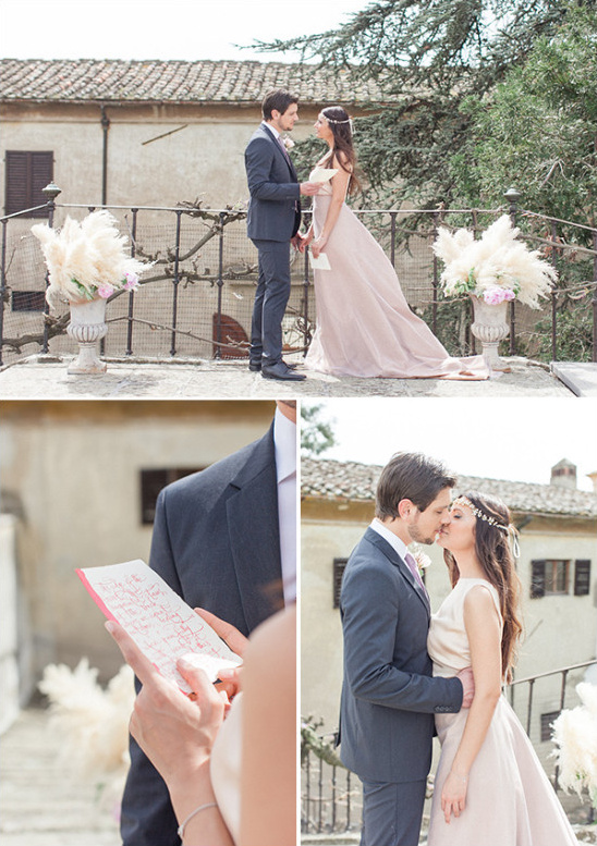 Reading of the vows