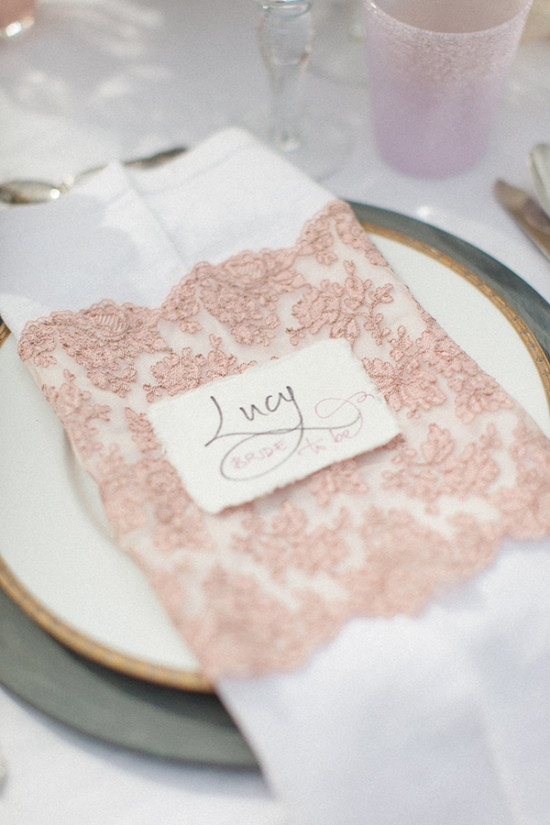 Blush table details