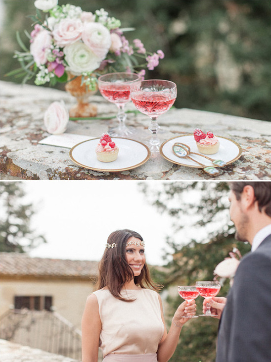 Wedding desserts and drinks
