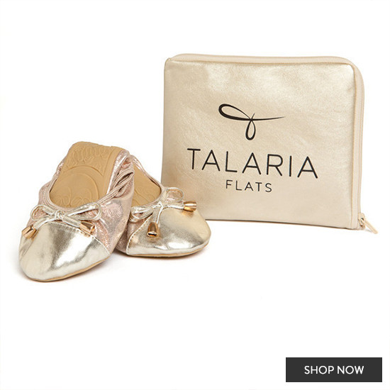 Bridesmaid gift idea - ballet flats form Talaria Flats