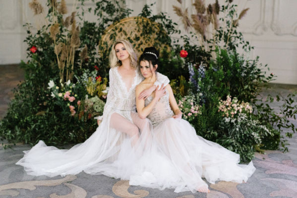 Sexy and Romantic Bridal Session