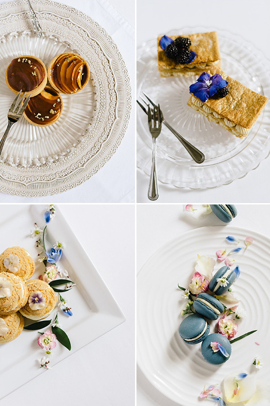 fancy garden party desserts