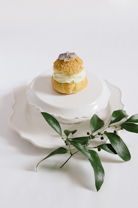 garden party cream puff
