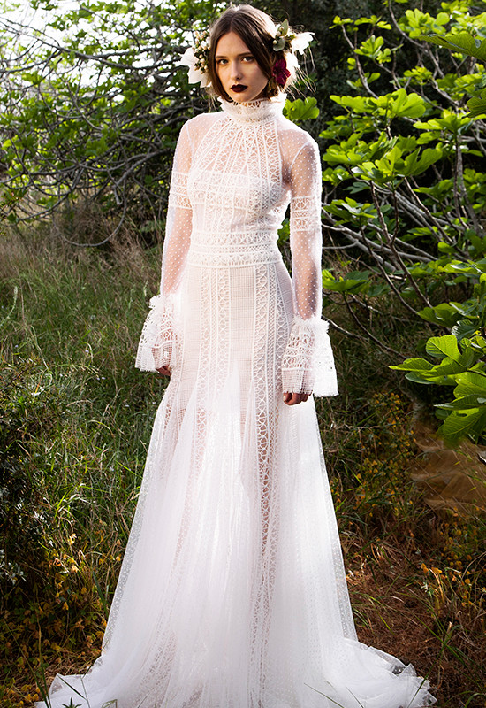 Haute Couture Wedding Gowns From Christos Costarellos