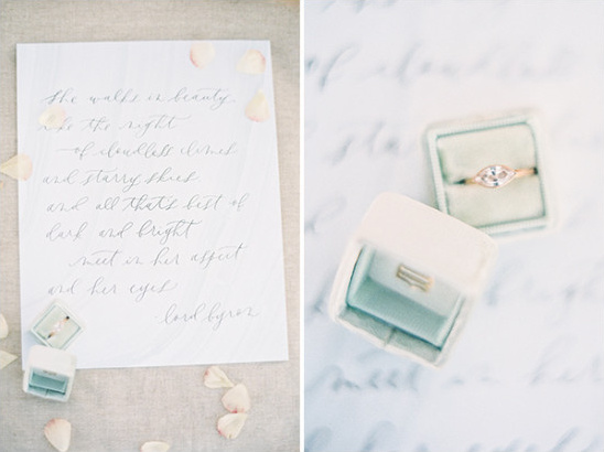 Wedding ring and vows