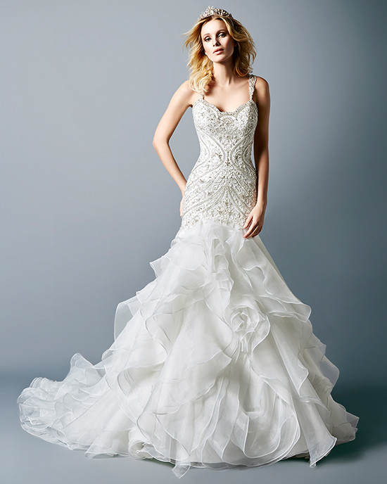 Glamorous Wedding Dresses From Val Stefani
