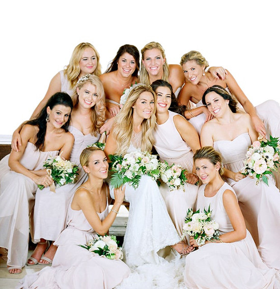 Lauren Conrad Bridal Party