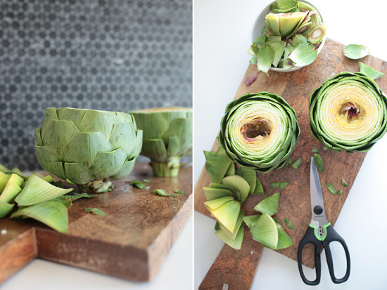 how to make an artichoke