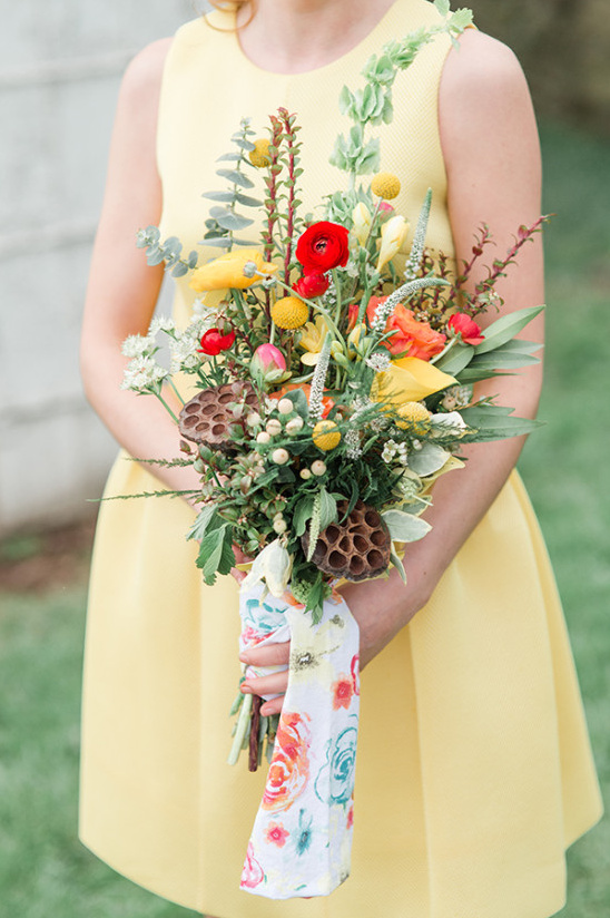 bridesmaid bouquet idea