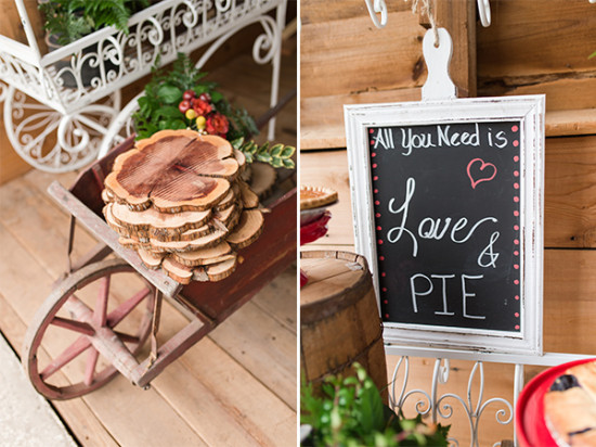 fun wedding dessert decor