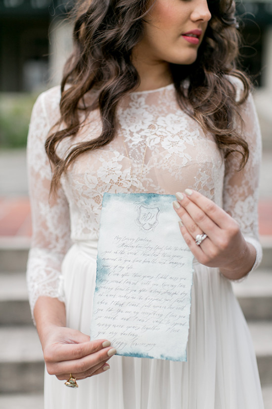 watercolor wedding vows