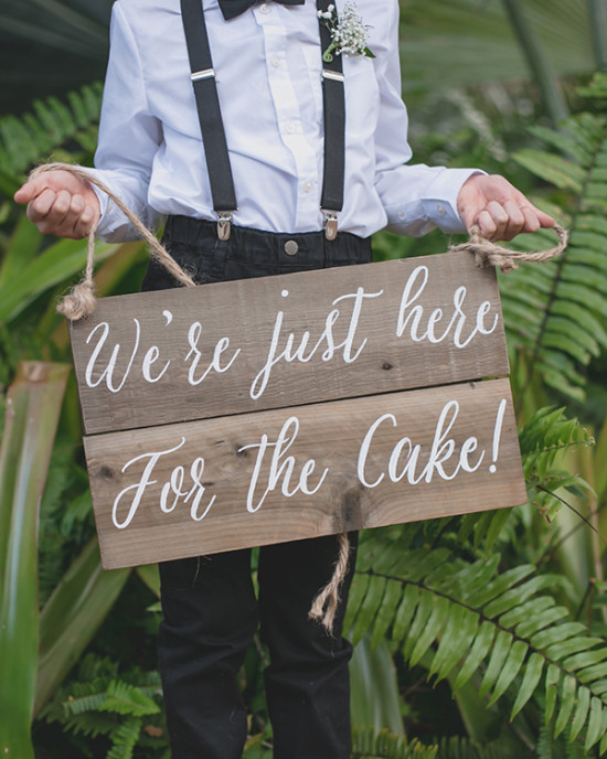 cute ring bearer wedding sign