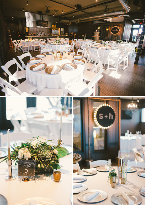 modern industiral chic wedding venue