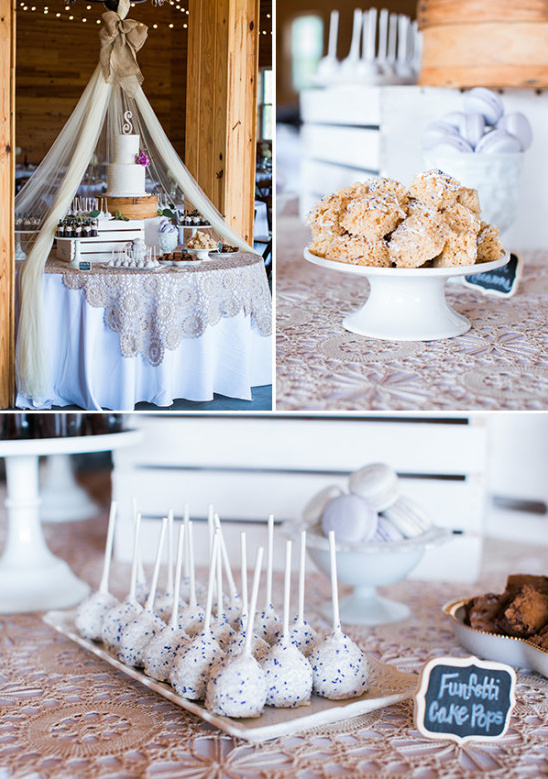sweet treats for the reception