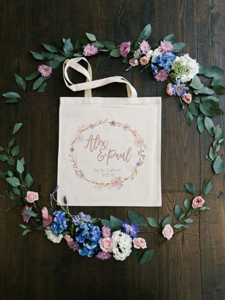 free floral wreath bridal shower template