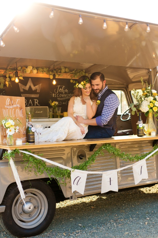 Napa Valley beverage truck
