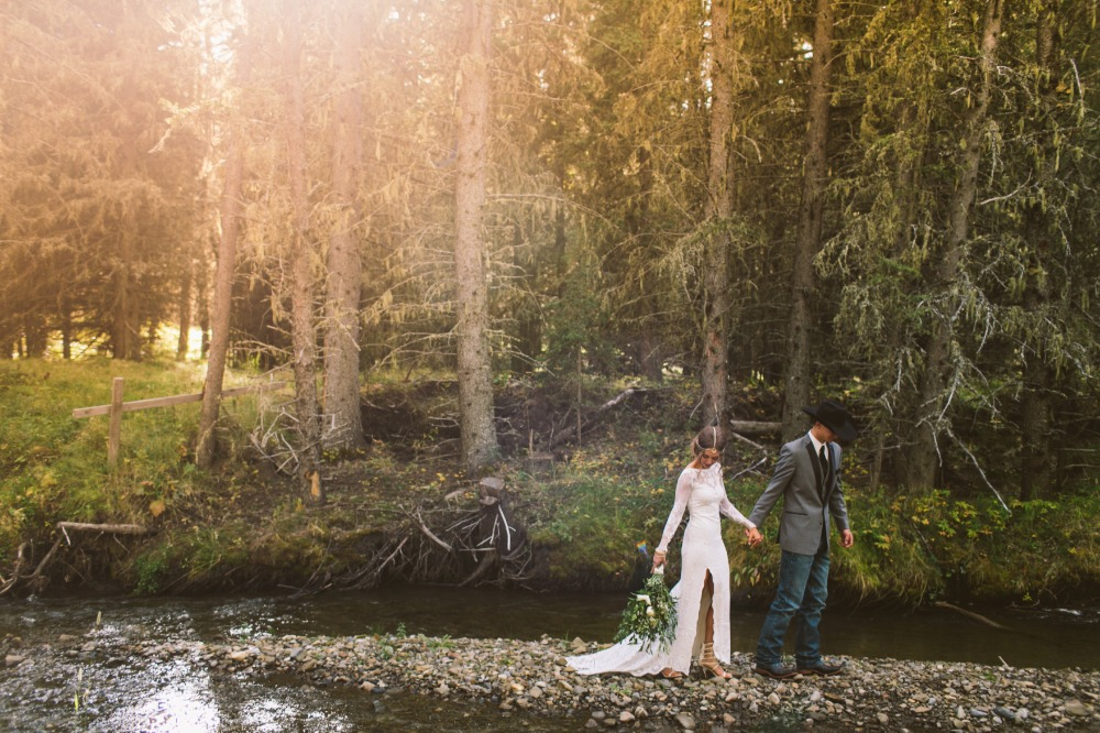 magical forest wedding photo by Meg Courtney