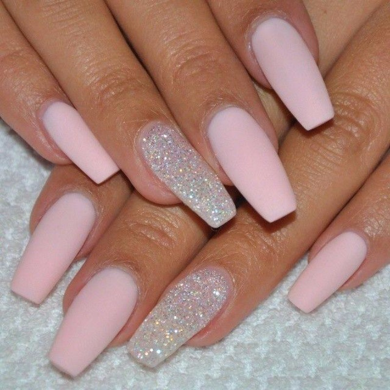 - 100 Delicate Wedding Nail Designs