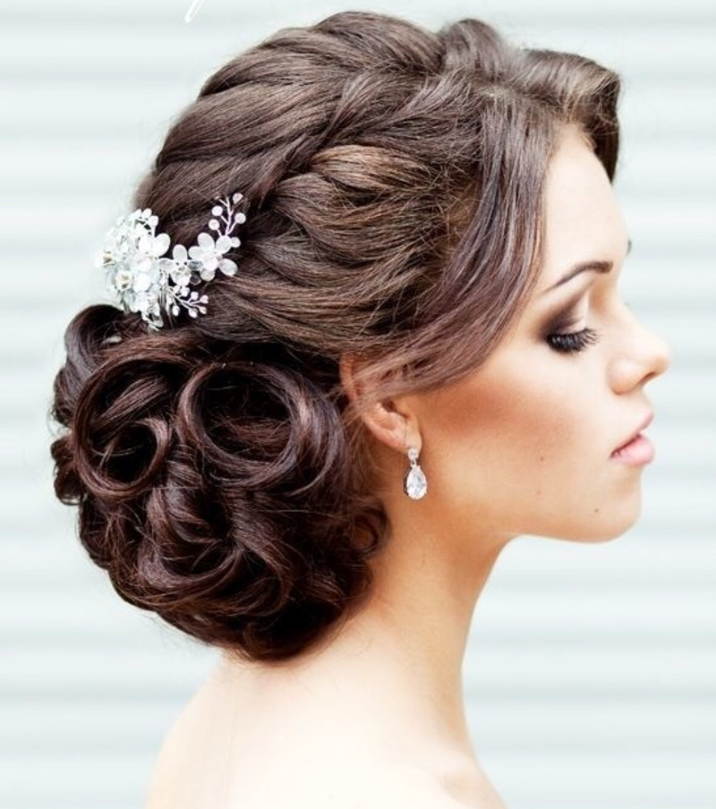 Cool Bridal Hairstyle Best Hairstyles 2017 Hairstyles For Women Draintrainus