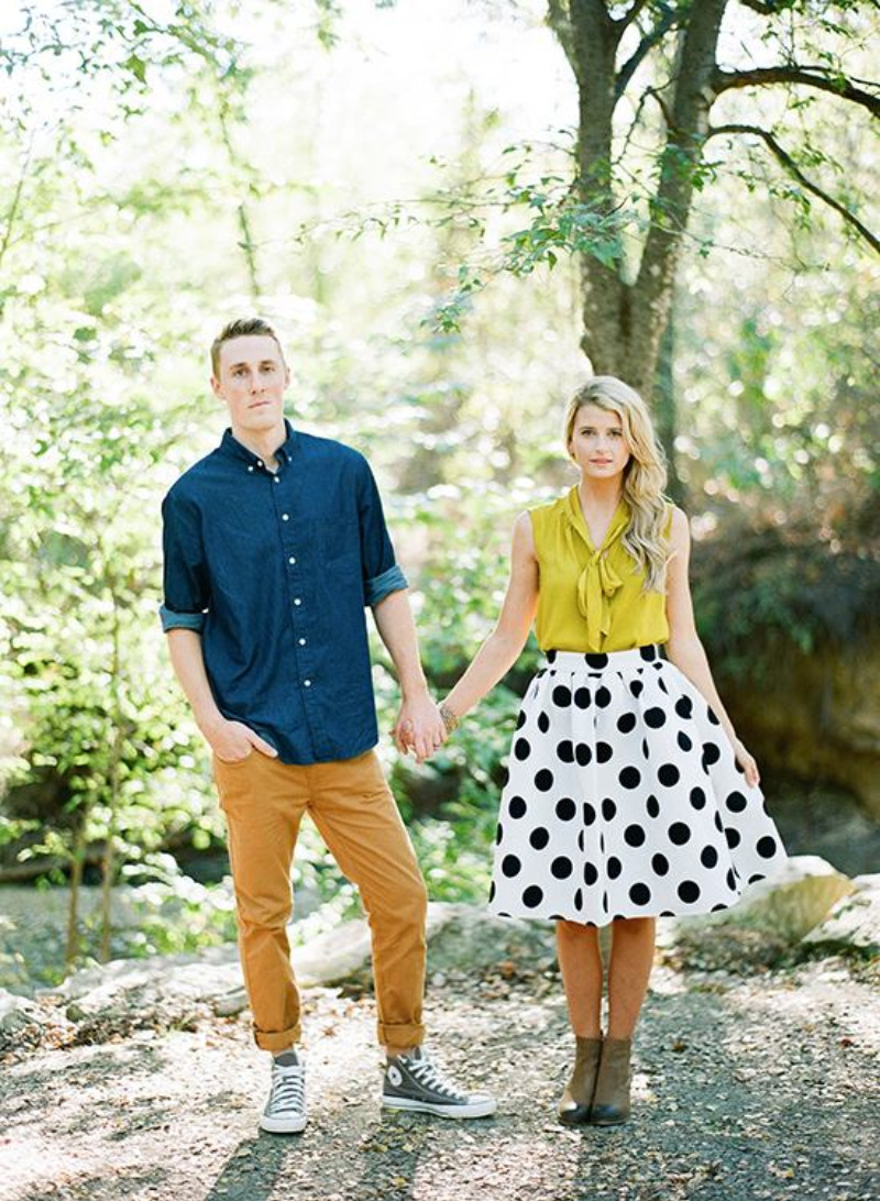 Dapper Engagement Wardrobe On A Budget