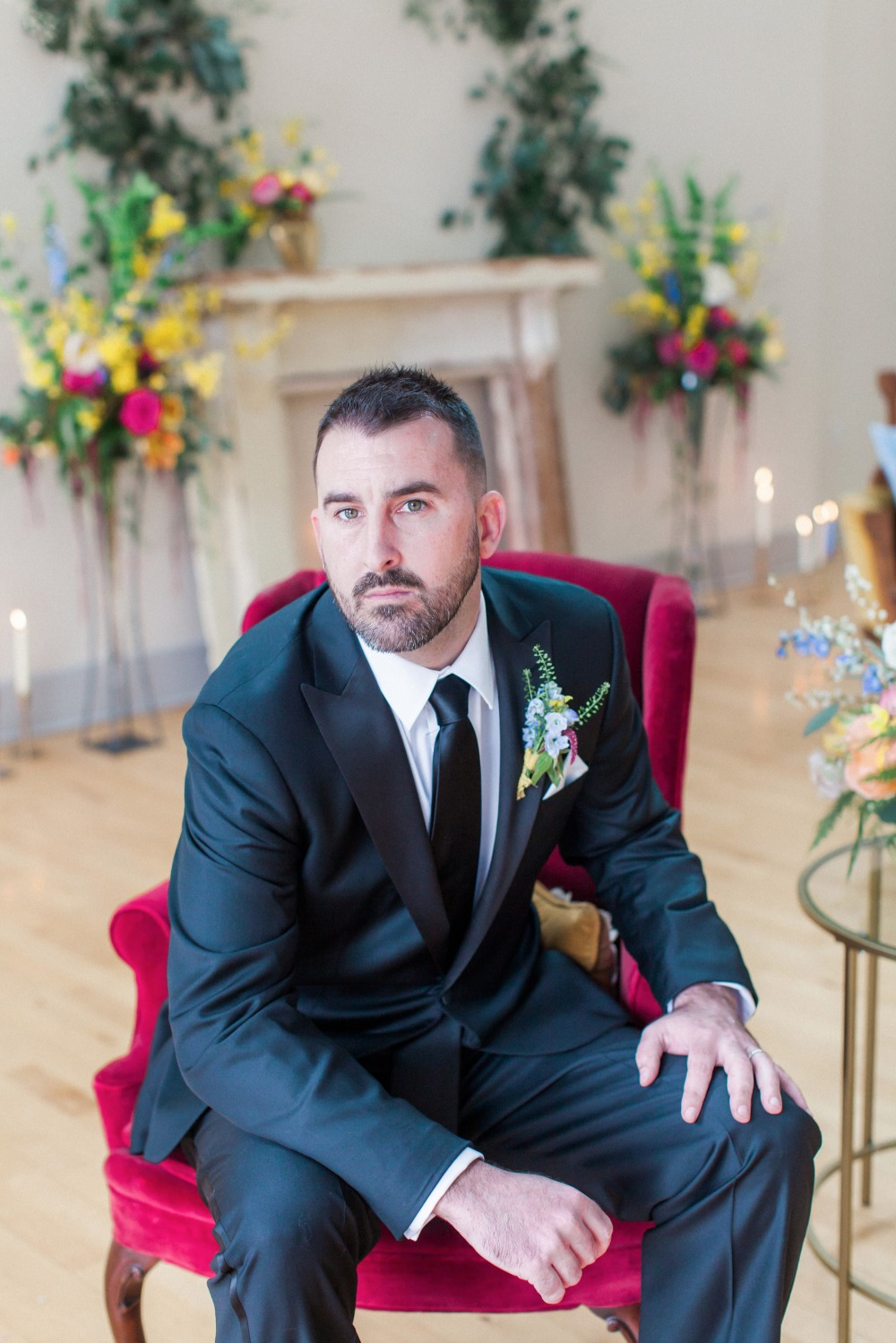 Groom look and style
