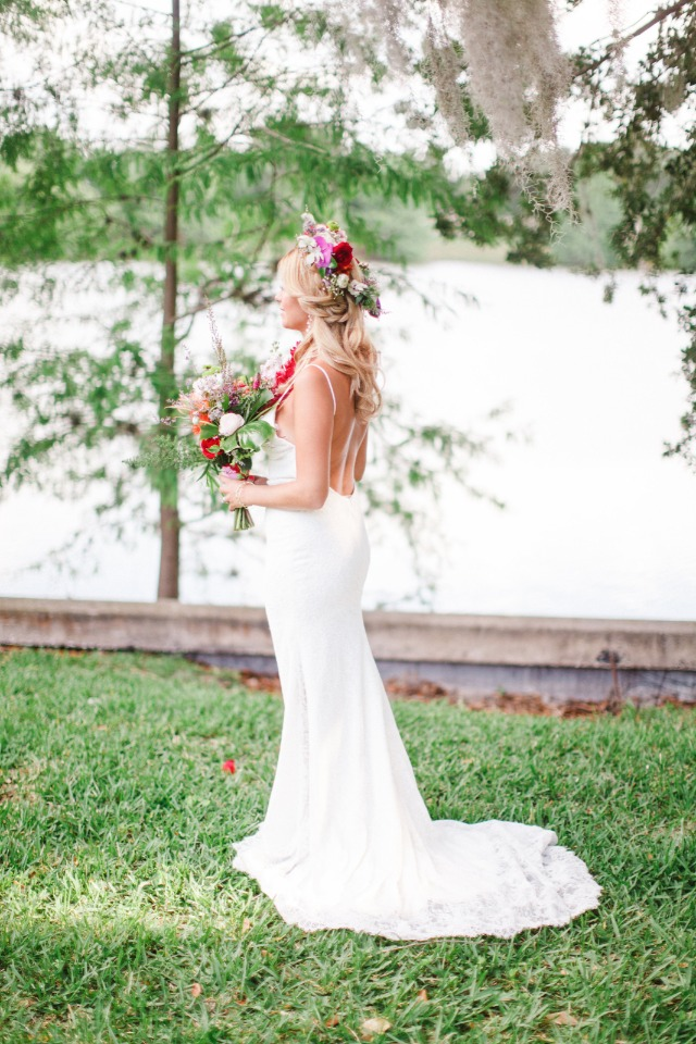 wedding dress from One and Only Bridal Boutique