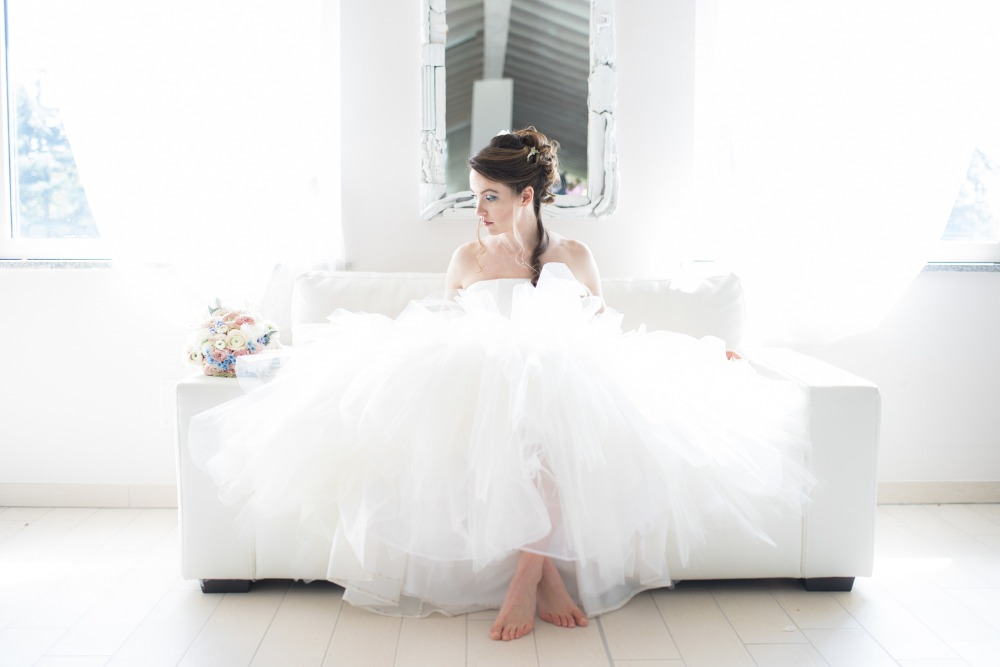 fluffy wedding dress of your dreams