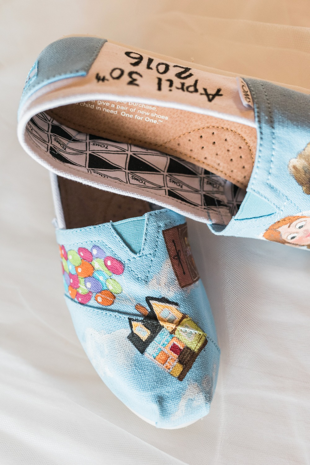 Disney inspired wedding Toms