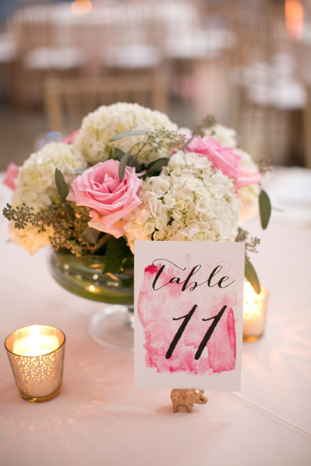 Water color table number