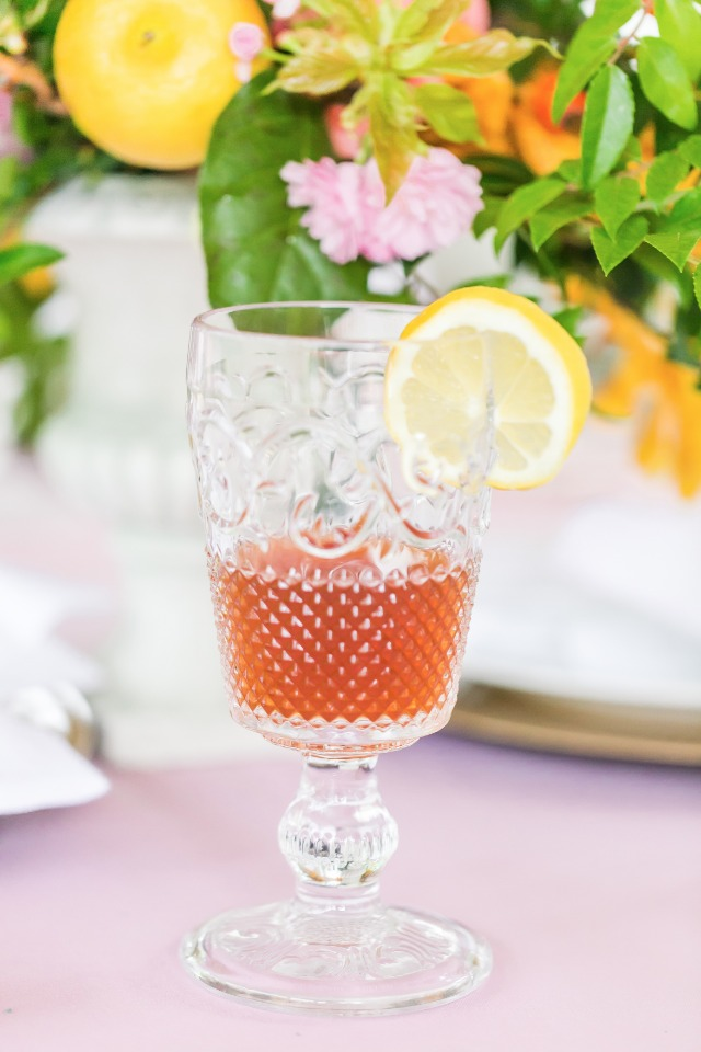 A southern classic sweet tea