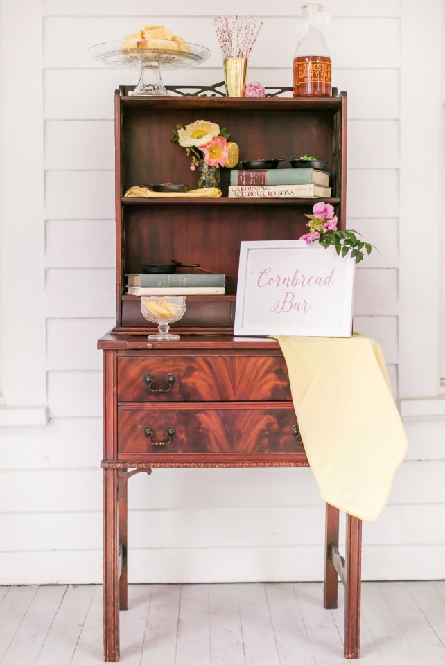 vintage furniture setting the stage for your southern wedding