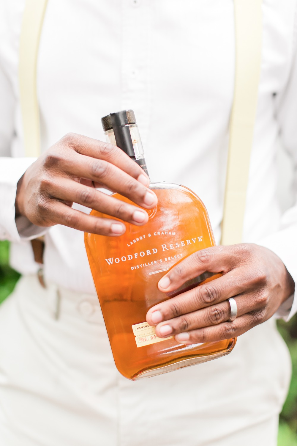 gift your groom with his favorite bottle of liquor
