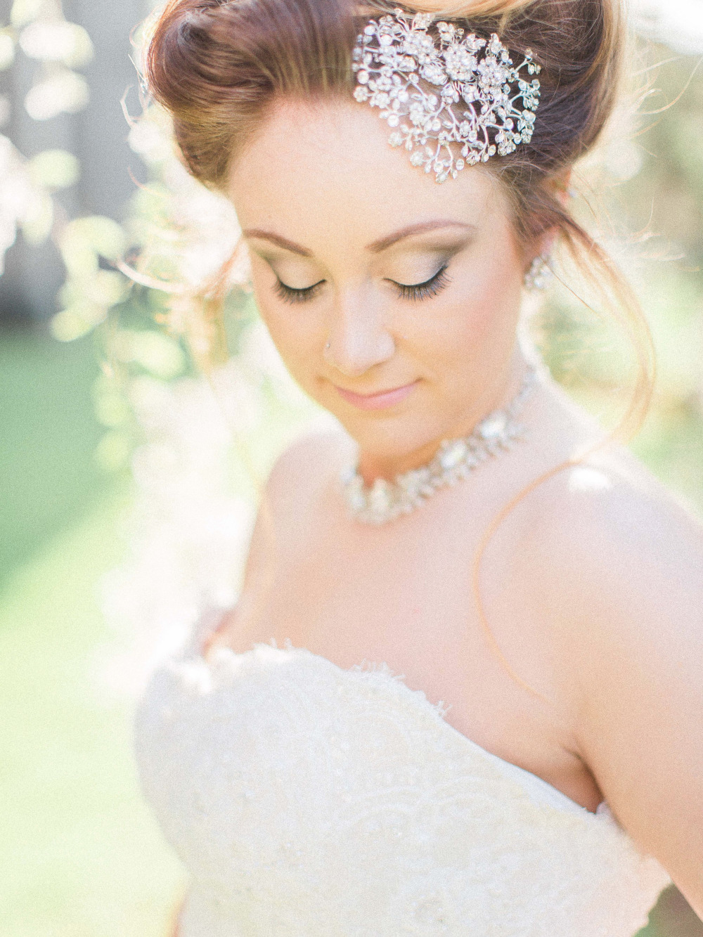 cinderella inspired bridal hair and makeup